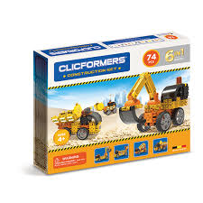 Clicformers - Construction Set - 70 Piece