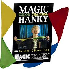 Magic Color Changing Hanky - tinkrLAB