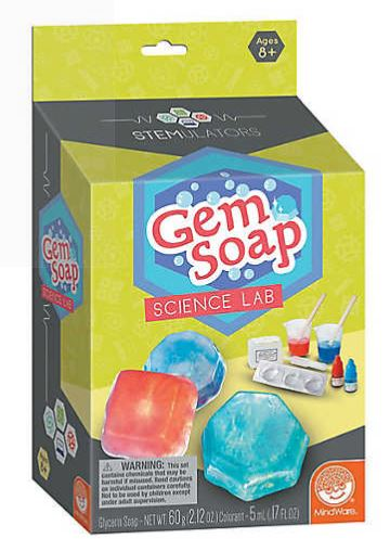 STEMULATORS: Gem Soap Lab - tinkrLAB