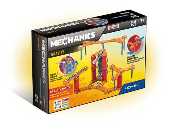 Geomag Mechanics | Gravity Motor