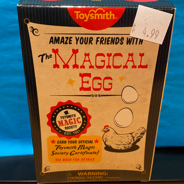 The Magical Egg - Magic Trick - tinkrLAB