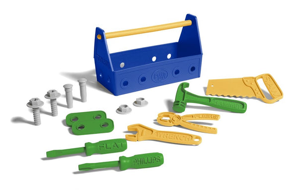 Green toys 15pc tool set - tinkrLAB