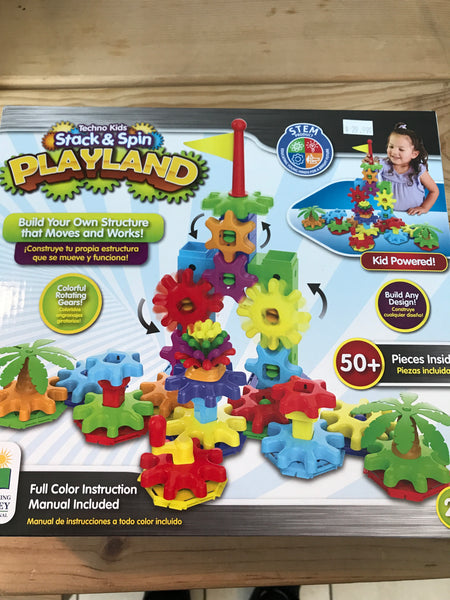 Stack and Spin Playland - tinkrLAB