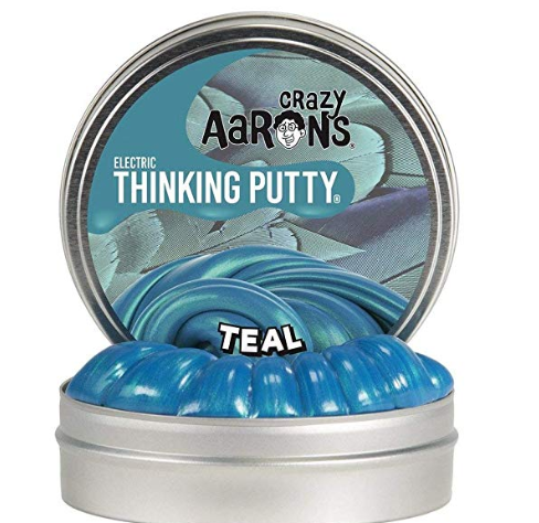 Mini Electric Teal Thinking Putty