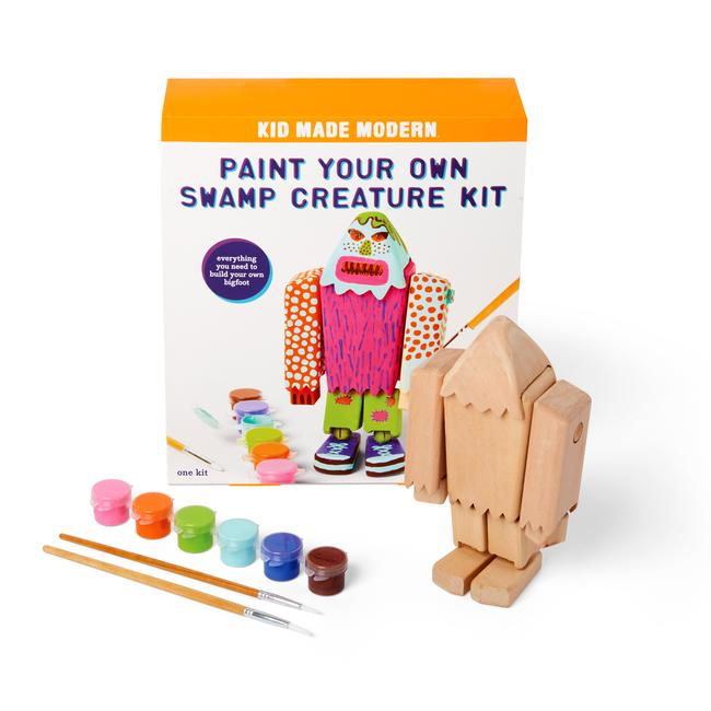 Paint Your Own Swamp Creature Kit