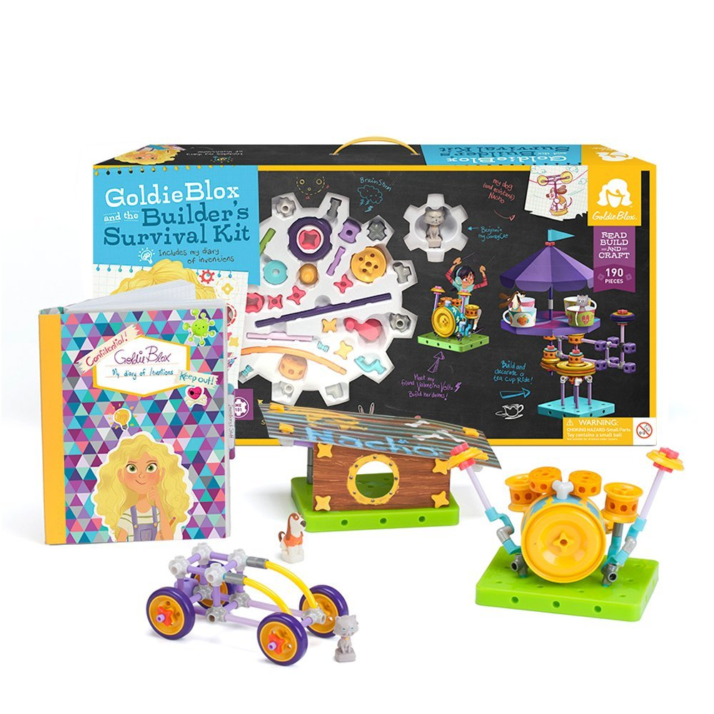 Goldie Blox - Builders Survival Kit