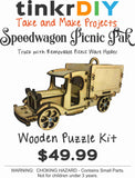 Wood Puzzle - Speedwagon Picnic Pac