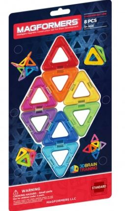 RAINBOW 8PC TRIANGLE ADD-ON SET - tinkrLAB