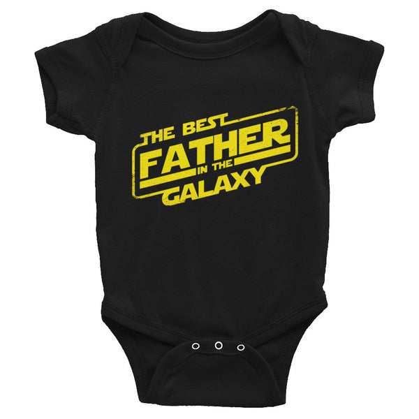 Best Father In The Galaxy Infant Bodysuit - 6 Drip
