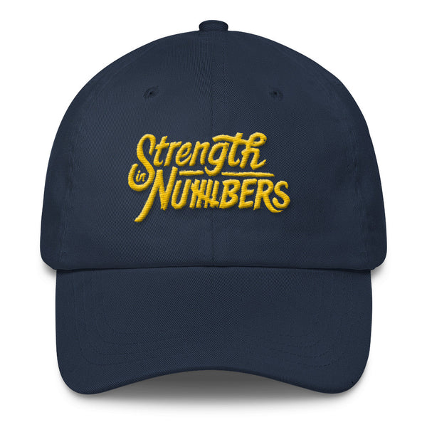 Strength In Numbers 3D Classic Dad Cap
