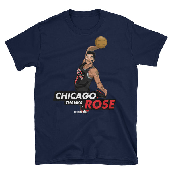 Chicago Thanks Rose Unisex T-Shirt