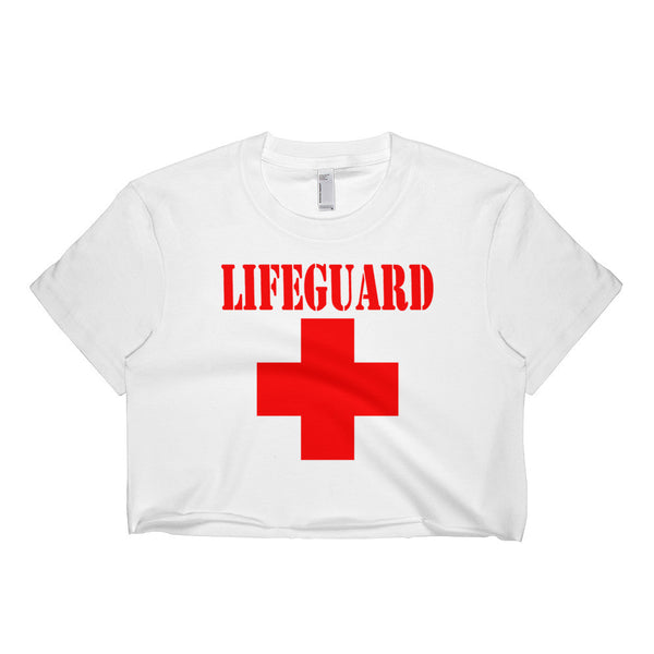 Lifeguard Short sleeve crop top