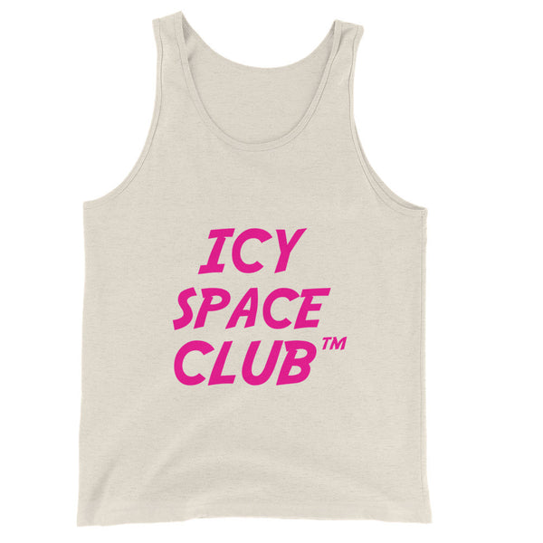 Icy Space Club Unisex  Tank Top