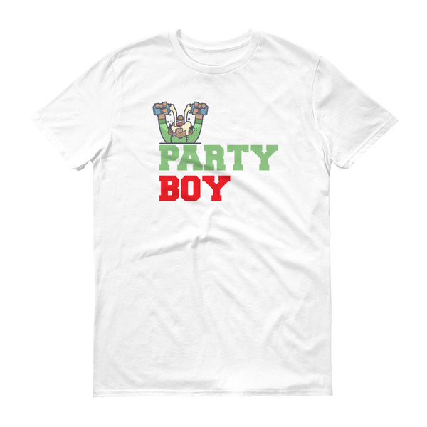 Party Boy Short sleeve t-shirt
