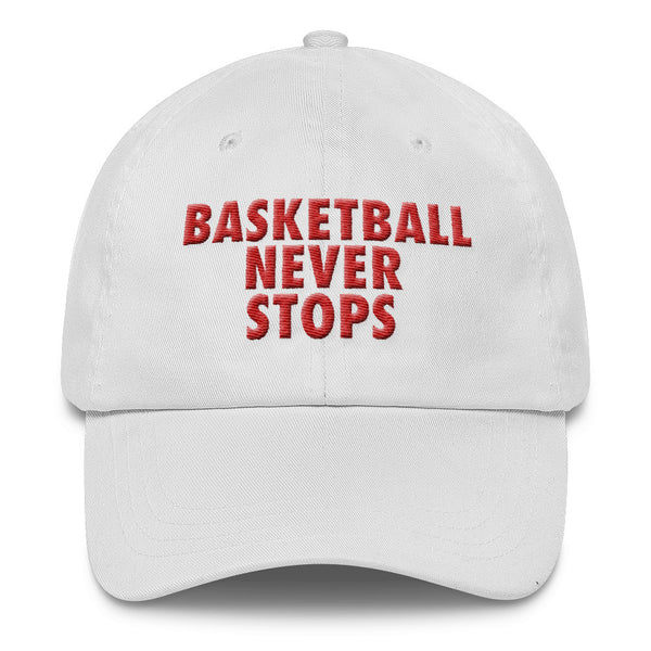 Basketball Never Stops Classic Dad Cap