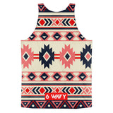 Native American 6Wavy Classic fit tank top (unisex)