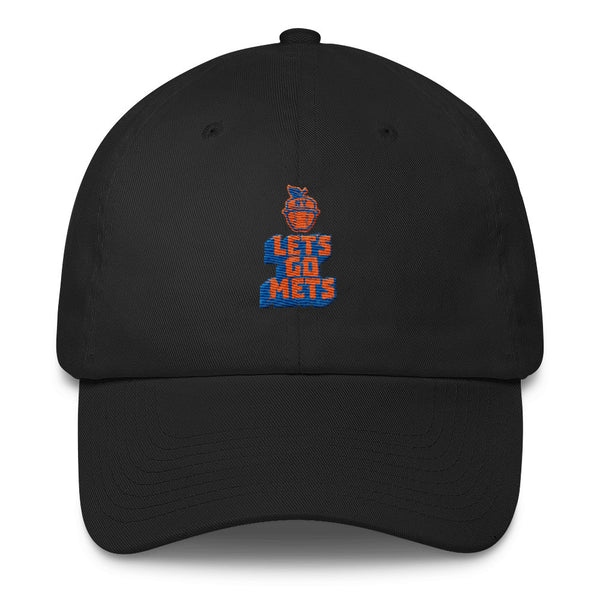 Lets Go Mets Cotton Cap