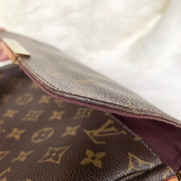 LOUIS VUITTON FAVORITE MM MONOGRAM (DU2195)