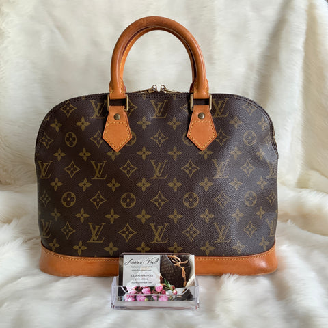 LOUIS VUITTON AUTHENTIC ALMA MONOGRAM (VI0954)