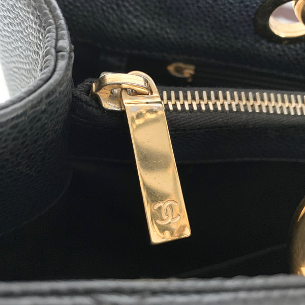 CHANEL GRAND SHOPPING TOTE GST CAVIAR GHW (16688470)
