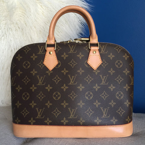 LOUIS VUITTON AUTHENTIC ALMA MONOGRAM (FL0071)