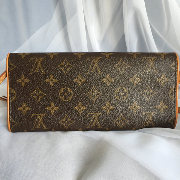 LOUIS VUITTON AUTHENTIC TWIN POCHETTE GM MONOGRAM (FL0081)
