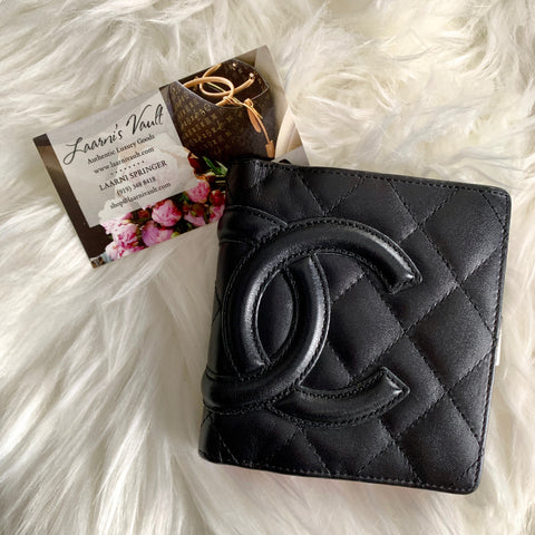 CHANEL SMALL WALLET CAMBON HOT PINK INTERIOR (9972178)