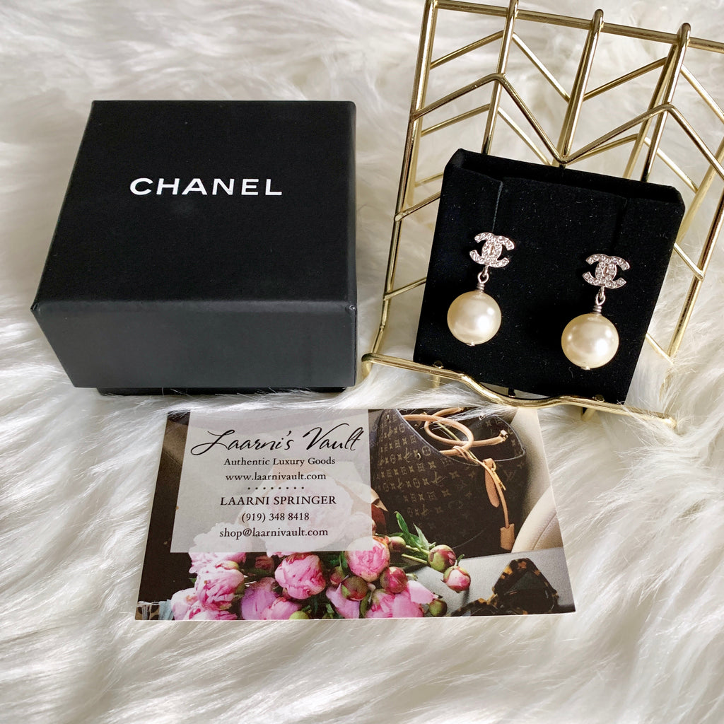CHANEL PIERCED EARRINGS