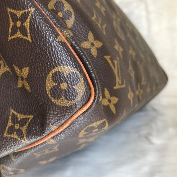 LOUIS VUITTON AUTHENTIC SPEEDY 35 MONOGRAM (SP0966)