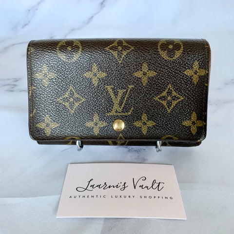 LOUIS VUITTON SHORT WALLET MONOGRAM