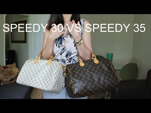 LOUIS VUITTON AUTHENTIC SPEEDY 30 MONOGRAM (SP0969)