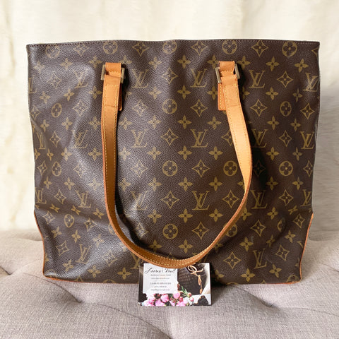 LOUIS VUITTON AUTHENTIC CABAS MEZZO MONOGRAM (TH1011)