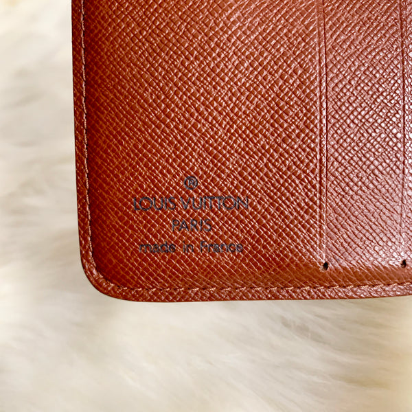 LOUIS VUITTON AUTHENTIC COMPACT MONOGRAM WALLET (MI1011)