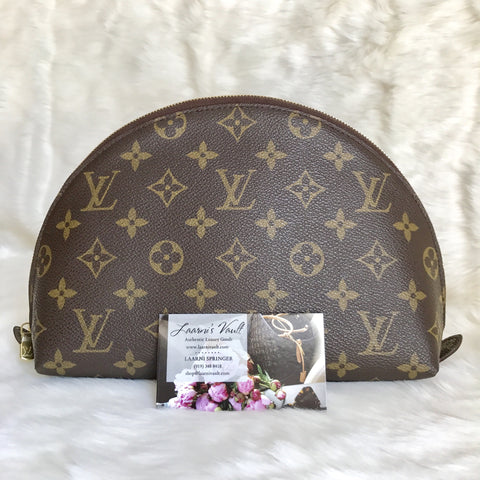 LOUIS VUITTON AUTHENTIC COSMETIC POUCH GM MONOGRAM (DK0192)