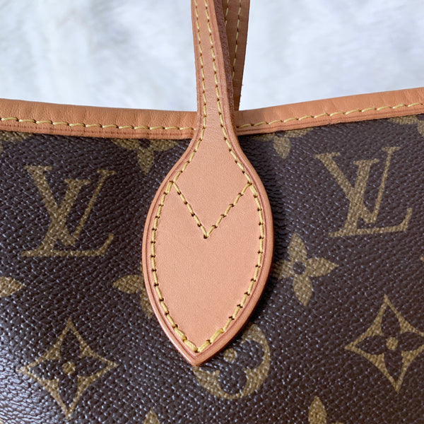 LOUIS VUITTON AUTHENTIC NEVERFULL MM MONOGRAM (AR4112)