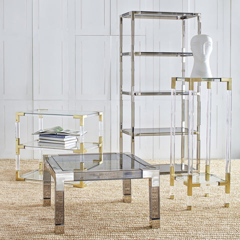 Jonathan Adler Jacques 2 Tier Table 17472 - Above The Floor