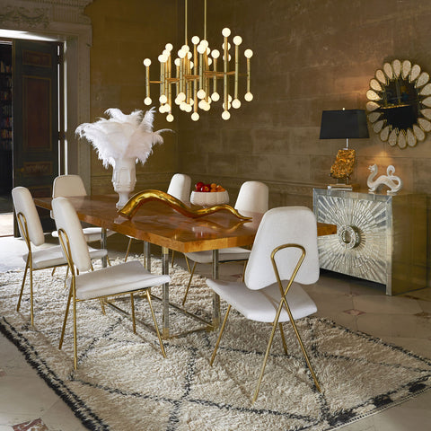 Jonathan Adler Bond Dining Table 24084 - Above The Floor
