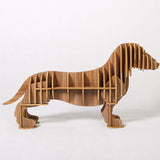 Creative Wood High-End Sausage Dog Wine Holder