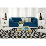 Jonathan Adler Lampert Sofa Venice Peacock 20103 - Above The Floor