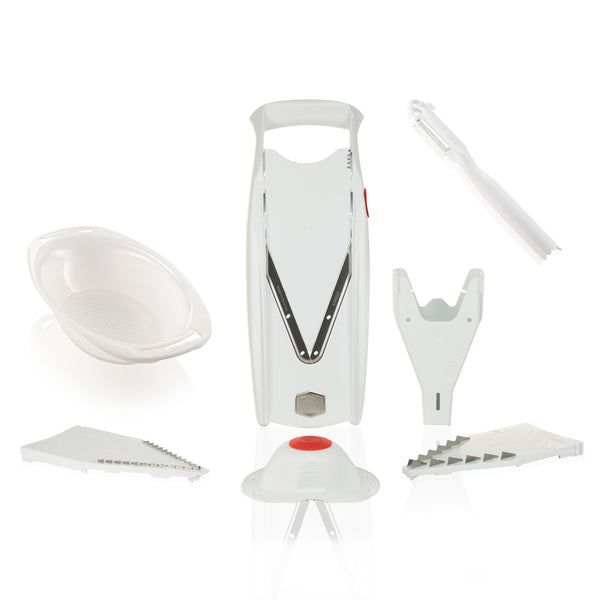 Börner V5 Powerline Slicer + PowerLine Bowl + Combi Peeler
