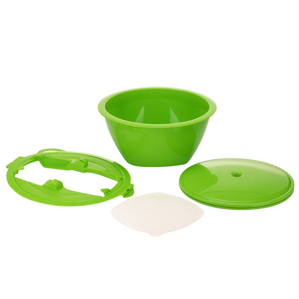 Multimaker: Bowl with Keep-Fresh Lid, Sieve and Multiplate