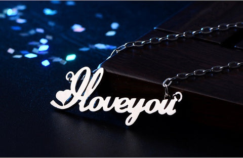 [Private Crafted] Pupular style, Custom Name Necklaces
