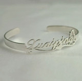 [Private Crafted] Pupular style, Custom Name Bangles
