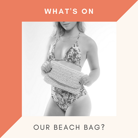 what's on your beach bag?