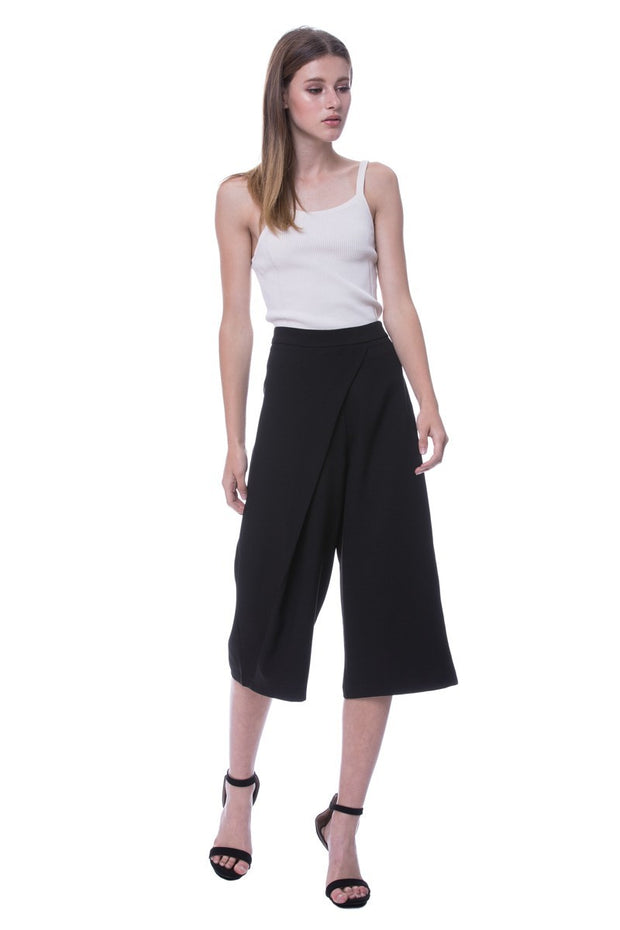 Styled by albaenid wide leg pants