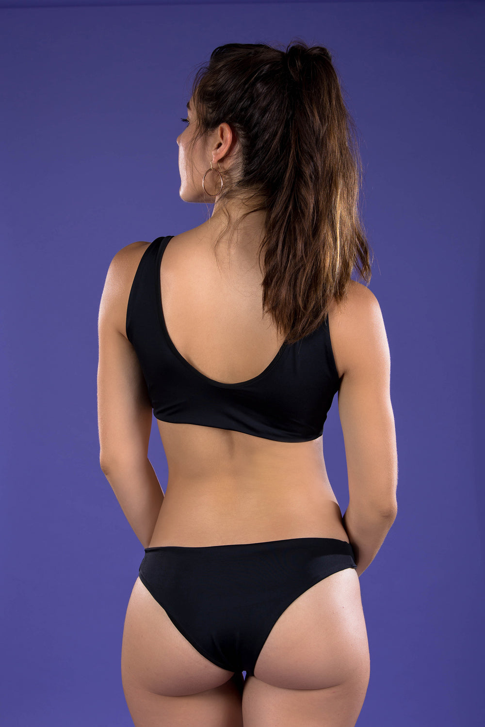 Alaine bottom - black