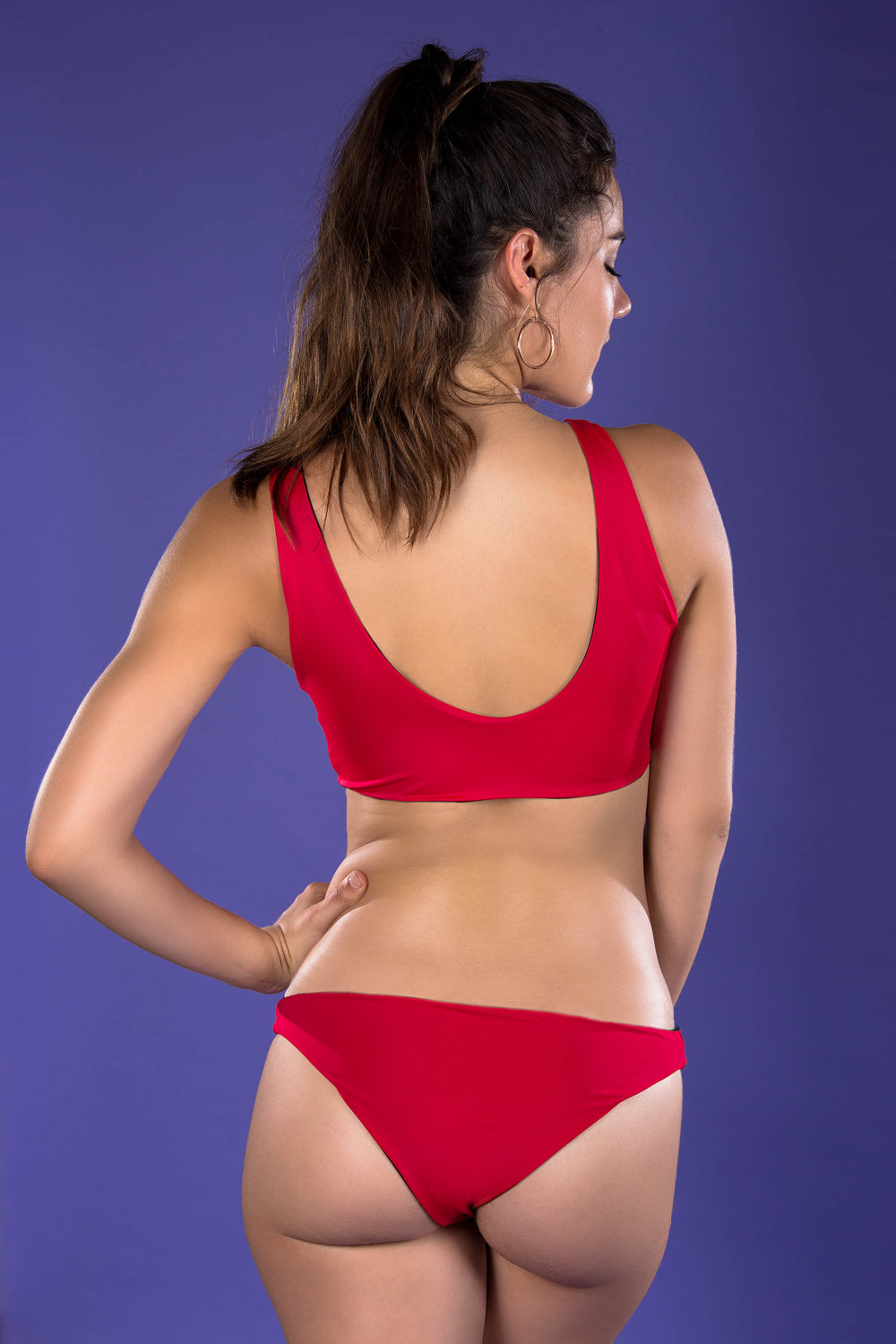 Alaine bottom - red