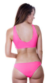 Alaine bottom - coral
