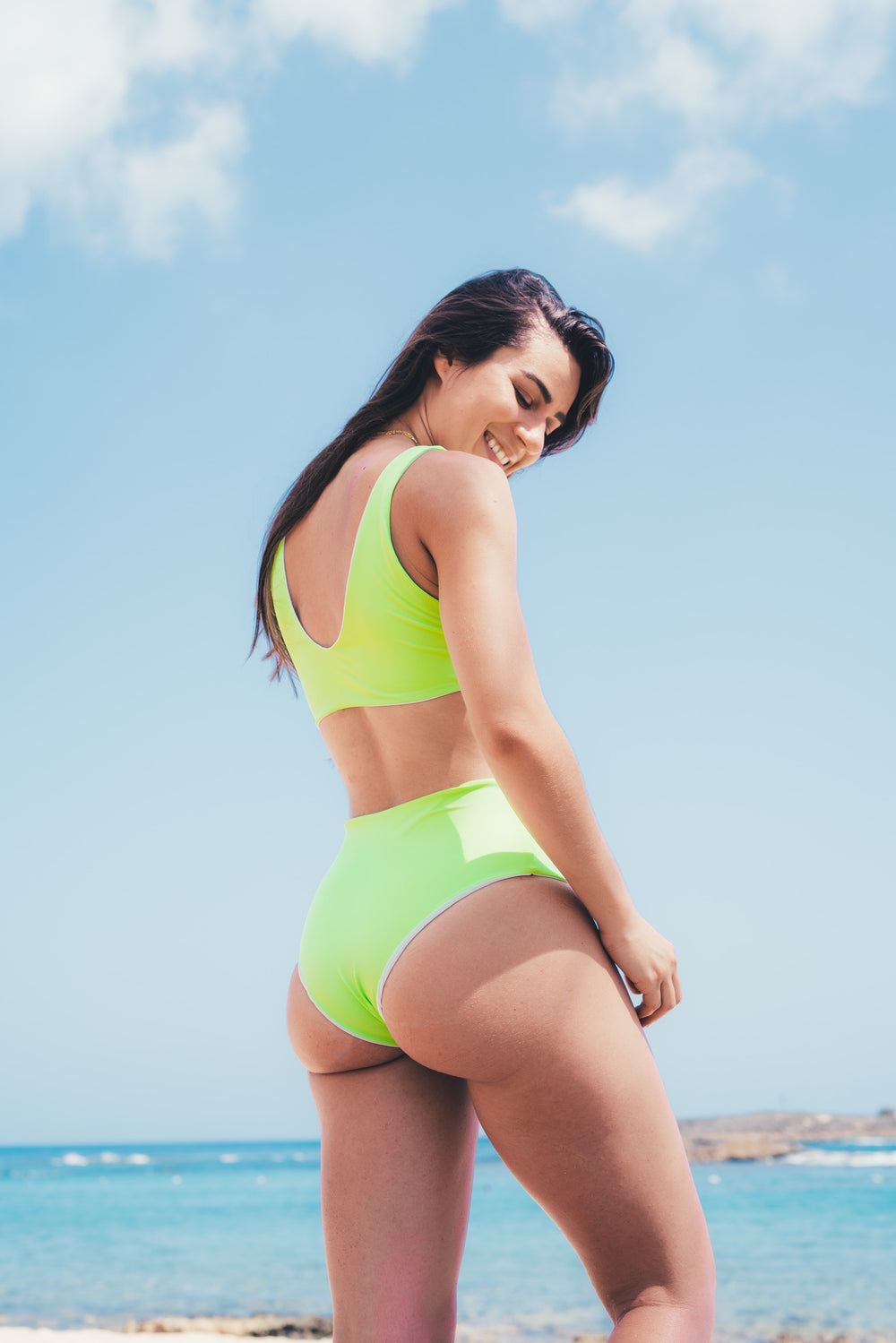 Alula bottom - neon green
