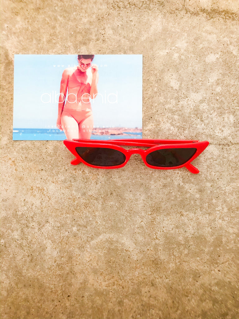 sunnies - bunny vibes red